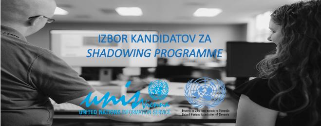 RAZPIS: Delovni dan v Organizaciji združenih narodov – Izbor kandidatov za Shadowing programme