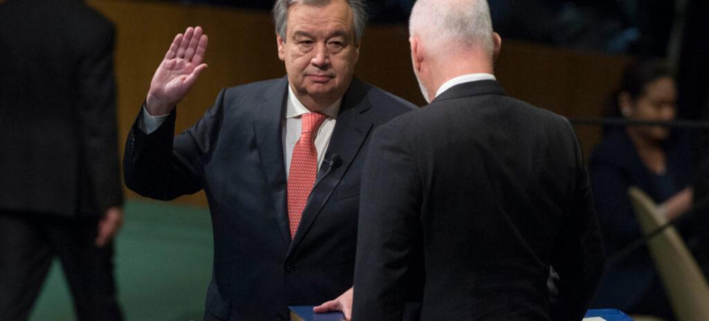 Uradno je v teku postopek izbire Generalnega sekretarja Organizacije združenih narodov