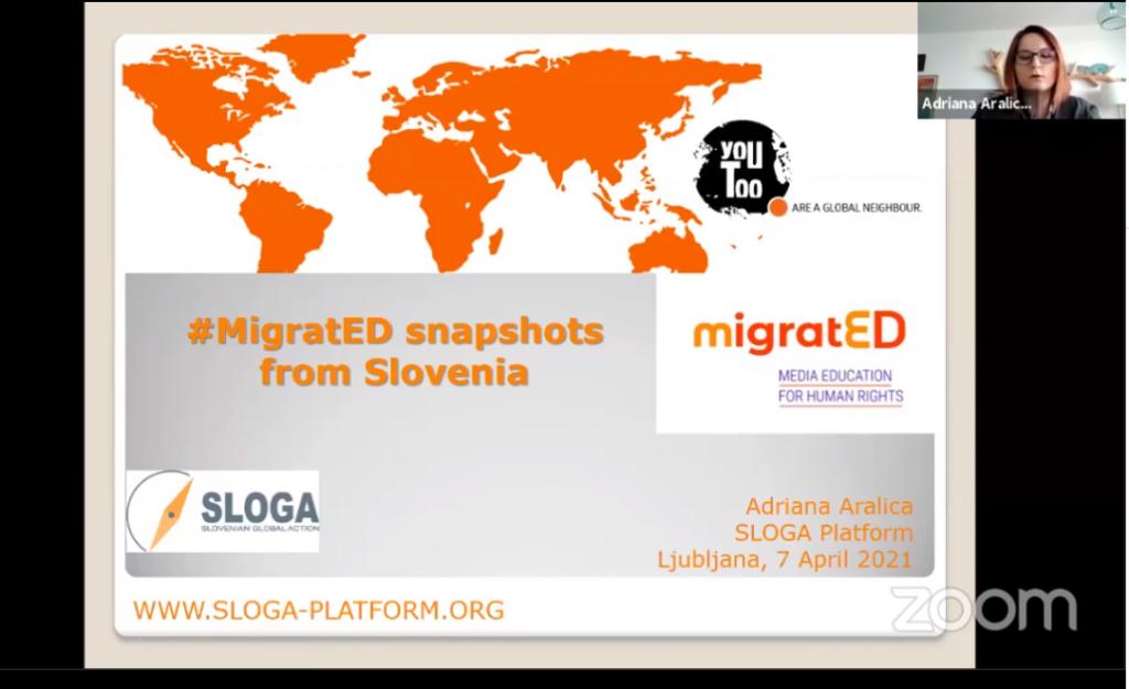 Zaključna konferenca #MigratED: Od dobrih praks k dobri (in usklajeni) politiki na področju globalnega učenja