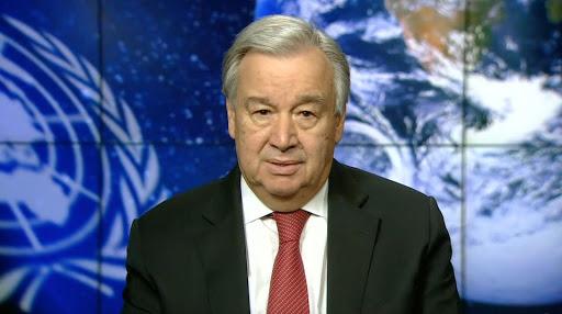 """António Guterres: """"Podnebni ukrepi za ljudi in planet"""""""