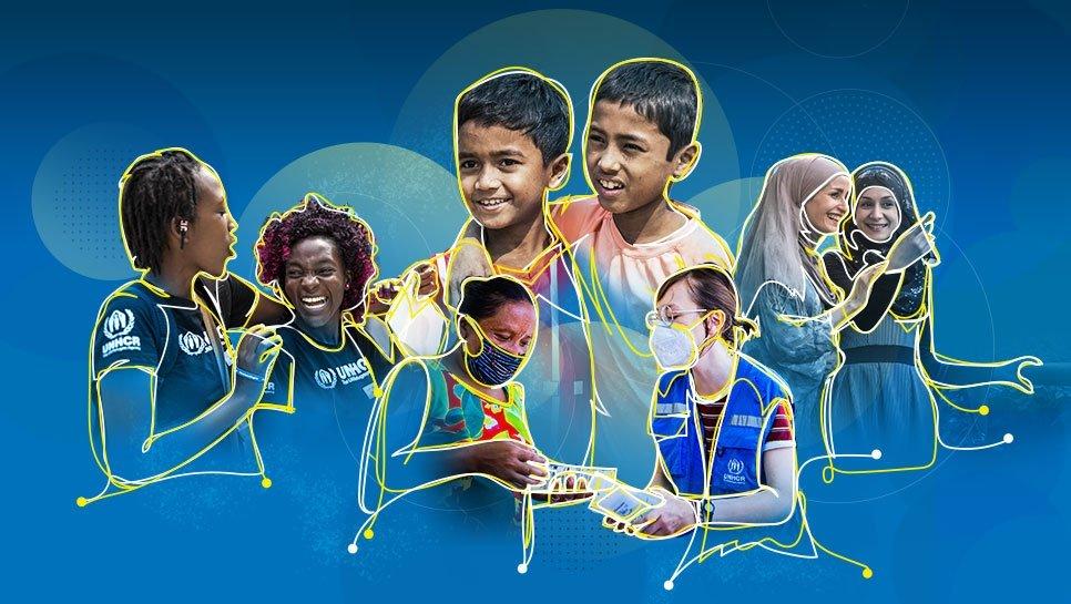 Sporočilo generalnega sekretarja ob svetovnem dnevu beguncev: »Skupaj okrevamo, se učimo in zasijemo«